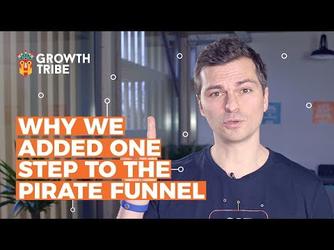 Why We Added One Step to the Pirate Funnel