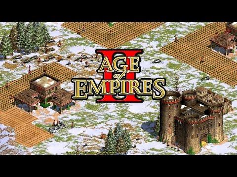 Age of Empires 2: Византия давит Англию
