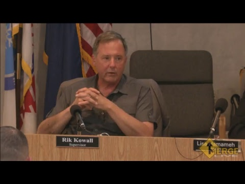 July 18, 2017 Township Board Meeting