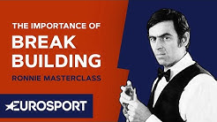 The Importance of Break Building   Ronnie O'Sullivan MasterClass   Snooker   Eurosport