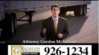 Baton Rouge Trial Attorney 18 Wheeler Wrecks Car Crash - Gordon McKernan - I Got Gordon!
