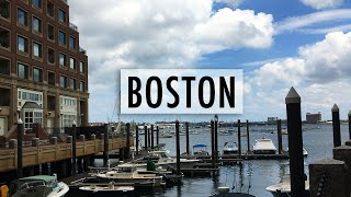 Boston is So Beautiful! | Vlog