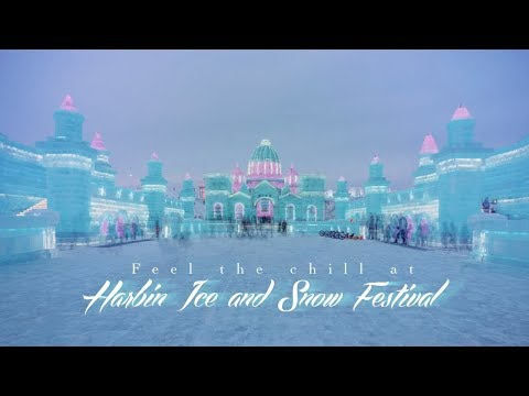 Live: Feel the chill at Harbin Ice and Snow Festival走进哈尔滨冰雪大世界