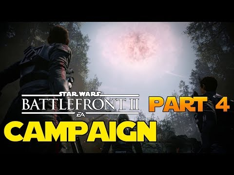 Evacuating Endor! - Campaign Part 4 - Star Wars Battlefront 2