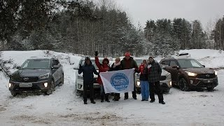 Клубная встреча Hyundai Creta и ix35 на Щелковском карьере смотреть