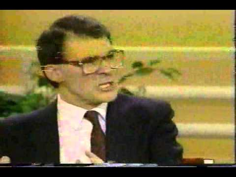Dr. Barry Mehler and J. Philippe Rushton on Donahue (5-21-90) - Part 1