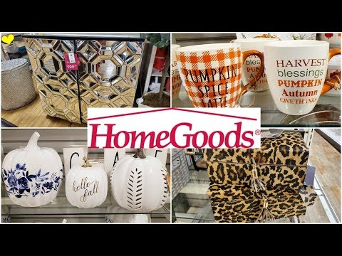 HOMEGOODS * HOME DECOR & FURNITURE * SHOP WITH ME 2019 AUGUST