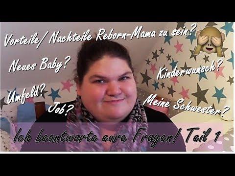 Q & A    ICH beantworte EURE Fragen!    TEIL 1    Reborn Baby Deutsch    Little Reborn Nursery