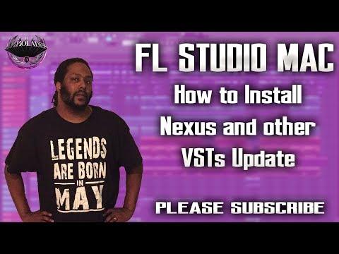 FL STUDIO ALPHA MAC UPDATE: How To Install Nexus and VSTs in FL