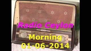Radio Ceylon 01-06-2014~Sunday Morning~01 Aap Ki Pasand