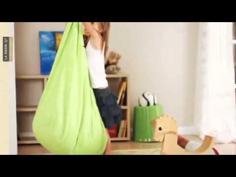 Joki hanging crow 39 s nest en eurekakids youtube - Silla colgante ikea ...