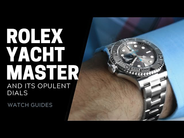 Rolex Yachtmaster Dials: Different Styles of Yachtmaster Dials | SwissWatchExpo