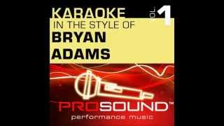 ProSound Karoke Band Heaven Karaoke Instrumental Track In The