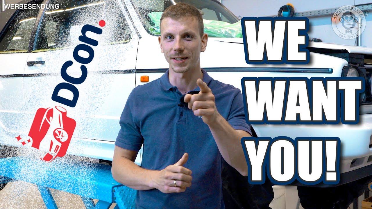 Wir stellen ein! & News zur DCon 2020 | Autolackaffen