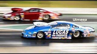 PROSTOCK MATCH RACES~WARREN JOHNSON VS LARRY MORGAN AT 2014 CORDOVA WORLD SERIES OF DRAG RACING