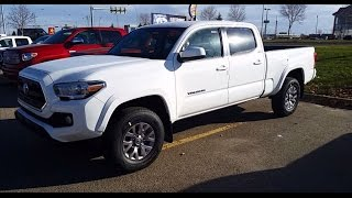 2017 Toyota Tacoma Double Cab 4X4 SR5 V6 Appearance Package With Automatic Transmission