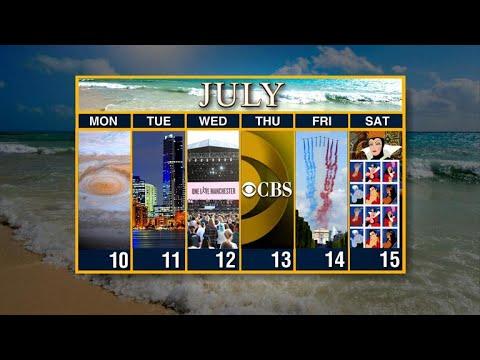 Calendar: Week of July 10