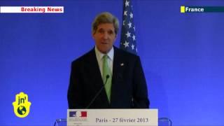 John Kerry Speaks French In Paris: New Us Secretary Of State Demonstrates Language Skills