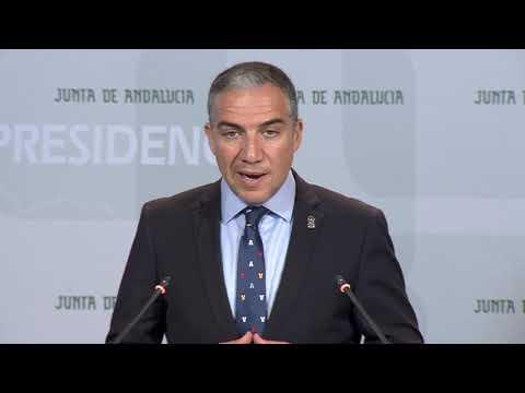 Elías Bendodo interviene en relación con la problemática de las viviendas irregulares en suelo rústico