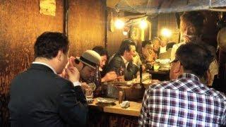 Omoide Yokocho, or Piss Alley, Shinjuku, Tokyo [iPhone 4S/HD]