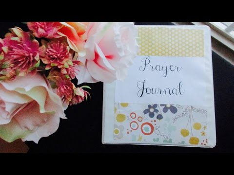 HOW TO MAKE DIY PRAYER JOURNAL // Christian Inspiration