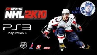 История одного конкурента. NHL 2K10 + Эпичный матч!