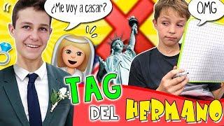 TAG del HERMANO * ¿Cuánto conoce Hugo a MATEO HAACK? 🤔