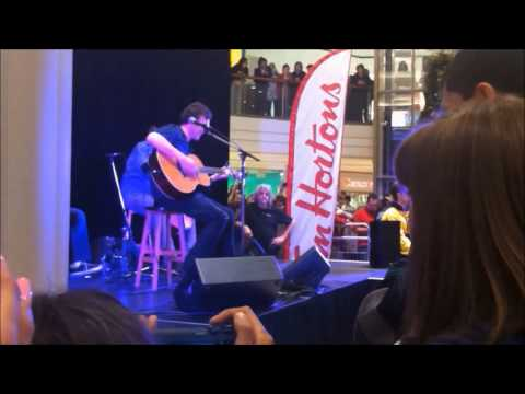 Philip Phillips @ the Pickering Town Centre PART 1