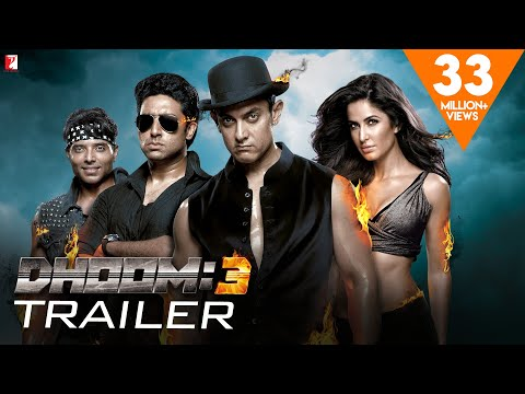 DHOOM:3 | Official Trailer | Aamir Khan | Abhishek Bachchan | Katrina Kaif | Uday Chopra Mp3