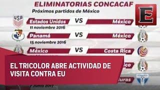 México ya conoce su calendario de partidos en el Hexagonal