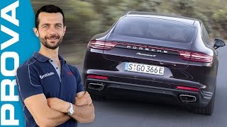 Porsche Panamera 4 E-Hybrid | La prova su strada