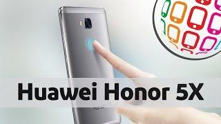 Huawei Honor 5X - Стильный 8-ядерный смартфон с красивым FullHD экраном