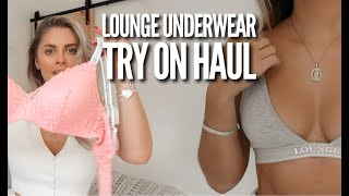 Lounge Underwear Try On Haul   Fashion Influx   AD