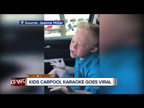 Kid goes viral with carpool karaoke of Whitney Houston classic