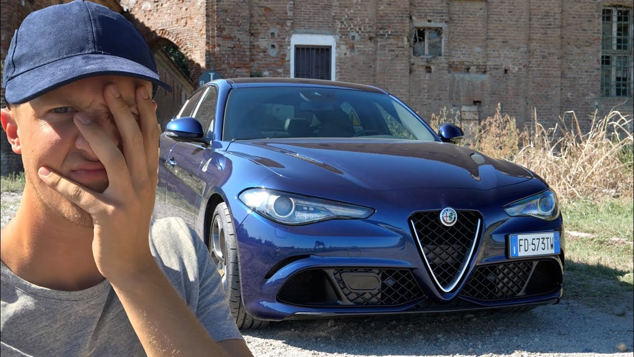 Seen Through Glass gets an Alfa Romeo Giulia for a DAY and it dies...