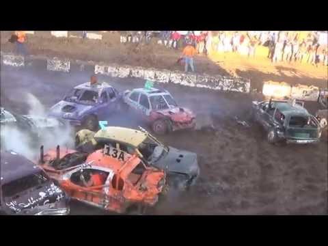Demolition Derby *CRASHTOBERFEST1* Salina Speedway 10-15-16 (Compacts)