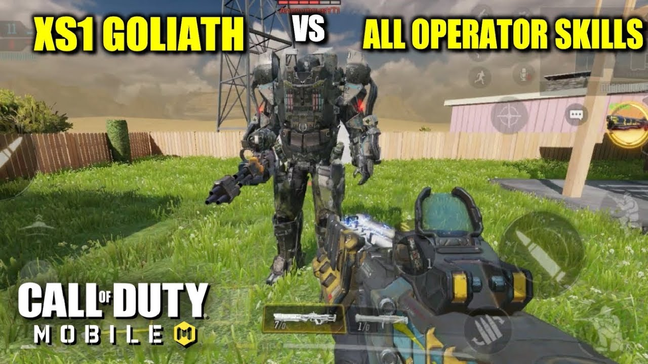 *NEW* XS1 GOLIATH VS ALL OPERATOR SKILL + NUKE in CALL OF DUTY MOBILE!! PART 2