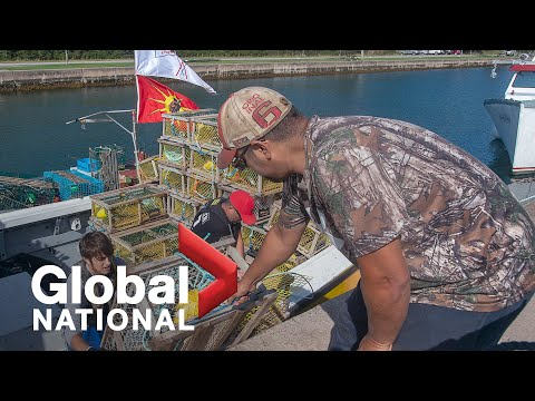 Global National: Oct. 25, 2020 | Federal facilitator in N.S. lobster dispute facing resistance