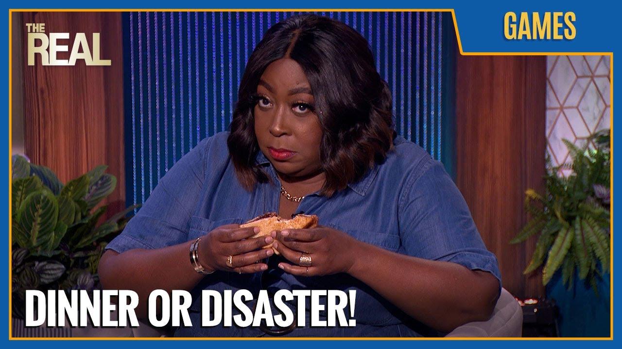Download Dinner or Disaster? Garcelle, Loni & Jeannie Judge Adrienne's Hazelnut Egg Sandwich!