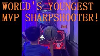 World's Youngest Basketball MVP Sharpshooter!