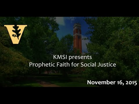 KMSI presents Prophetic Faith for Social Justice w/ Rev. Dr. Jeremiah Wright Jr.