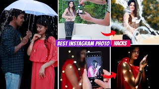 7 EASY MOBILE PHOTOGRAPHY Hacks To Make your INSTAGRAM Photos VIRAL  घर बठ Photos Viral कर