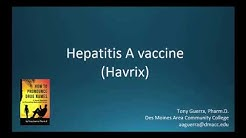 (CC) How to Pronounce hepatitis A vaccine (Havrix) Backbuilding Pharmacology