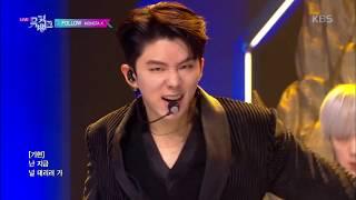 FOLLOW - 몬스타엑스 (MONSTA X) [뮤직뱅크 Music Bank] 20191101
