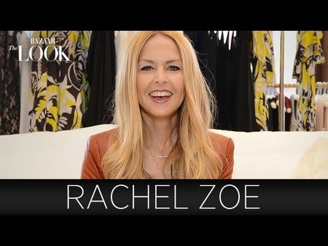 Rachel Zoe Talks Fashion | Harper's Bazaar The Look - YouTube