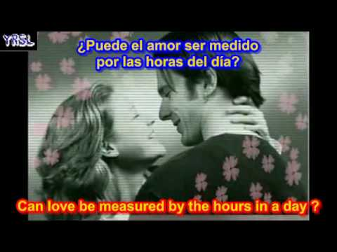 Andy williams - love story  ( SUBTITULADA EN ESPAÑOL & iNGLES )
