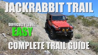 Easy Off-Road Trail In Southern California: Jackrabbit 4x4 Trail - Full Trail Review