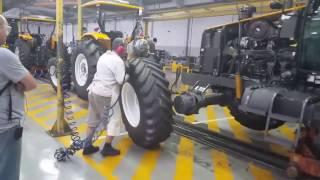 Visita a la fabrica de tractores Valtra en Brasil