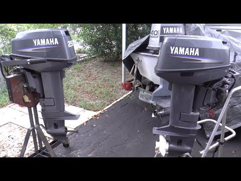 Fixing A Yamaha 25HP 2 Stroke Outboard Motor