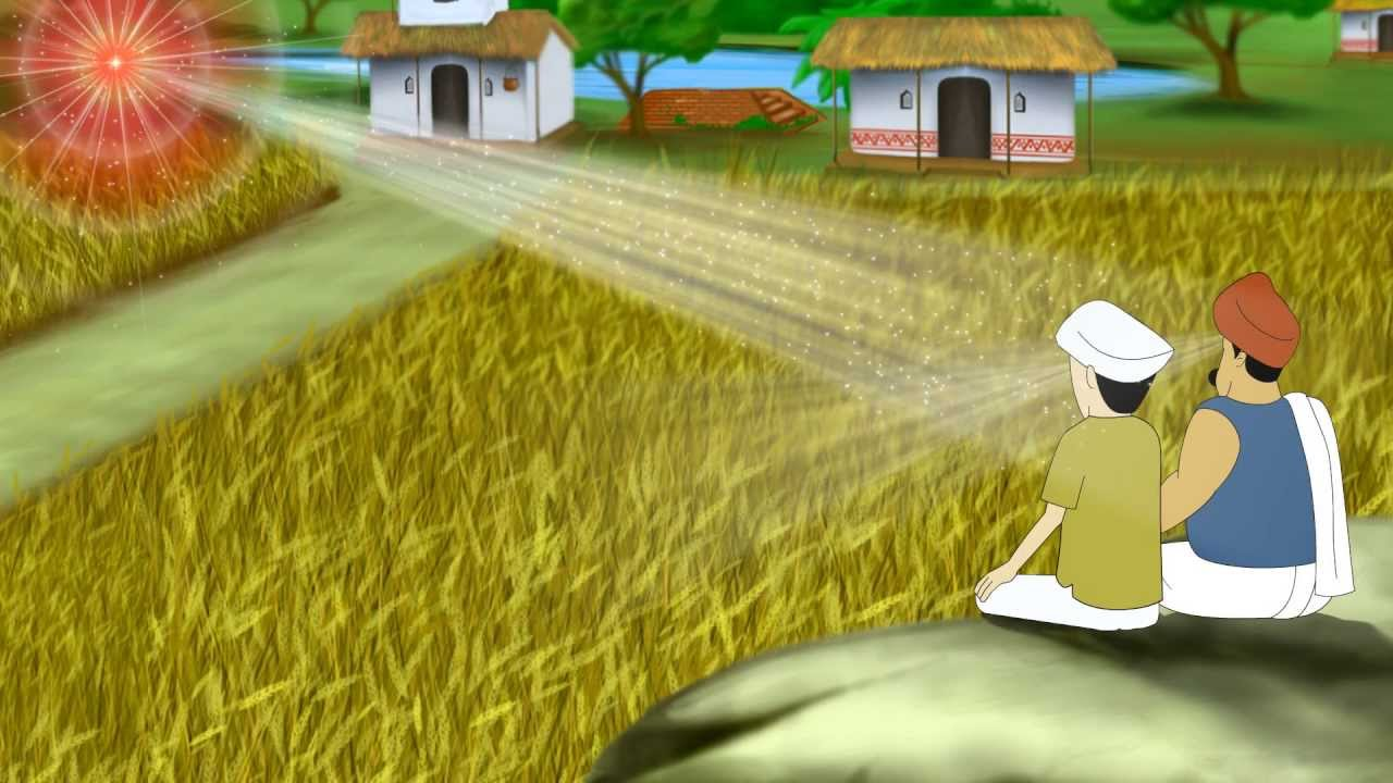 sustainable yogic agriculture telugu cartoon